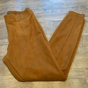 Tan old navy work pants size M